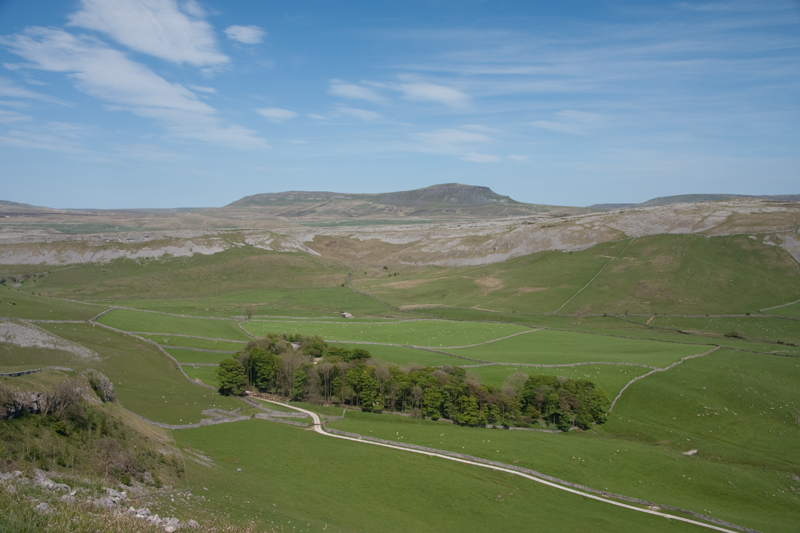 Pen-y-ghent from Crummackdale