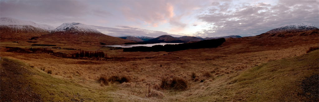 Loch Tulla Sunset