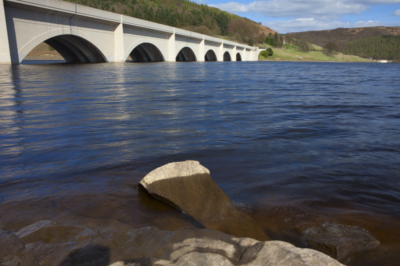 Bridge, Ladybower Reservoir