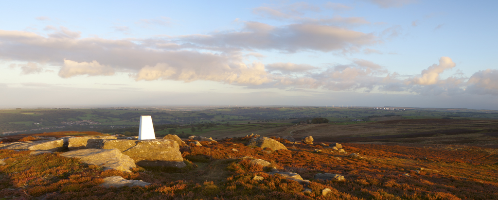 Evening Light on Nought Moor.